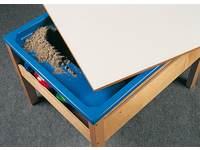 Deksel zand-watertafel met tableau  80 x 100