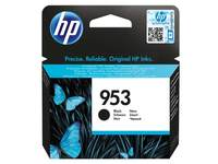 Cartridge HP 953 Inkt Zwart 1000 pag voor OfficeJet Pro HP8710/8720