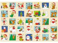 Beloningstickers 428 Kerstvriendjes, 35 motieven, 700 stuks