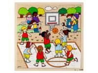 Puzzel basketbal, 81 stukjes