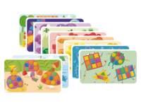 PlayMais® Classic aanvulset kaarten leuk om te leren, 5 modellen