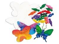 Aquapapier Schmetterlinge klein
