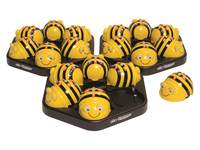 Bee Bot klasse set 6 stuks met oplaadstation