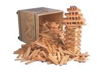 Kapla schoolset, 1000 onderdelen in kist