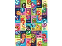 Beloningsstickers Furries 36 motieven, 720 stickers