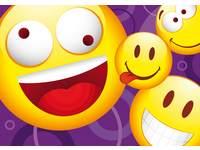 Ansichtkaarten Smileys 5509 4 motieven, 48 stuks