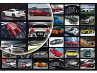 Beloningsstickers Sportwagens 187 36 motieven, 828 stickers