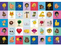 Beloningsstickers Emoji's 392, 40 motieven, 800 stuks
