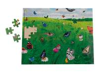 Puzzel Vlindertuin