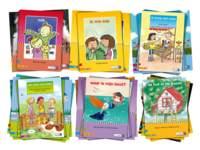Aanvullend leesboekenpakket op maanniveau, kern 1-6