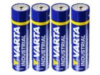 Batterijen Varta penlite AA AlkalineIndustrial LR6, 4 stuks