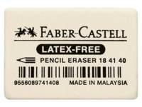 Gum Faber-Castell natuurrubber 34x26x8mm, 40 stuks