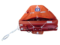 Arimar Life Raft Atlantic P -   ISO 9650 Type 1 (-24H)