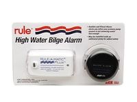 Flood water bilge alarm
