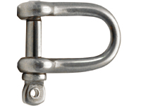 D-shackles - short - eye bolt