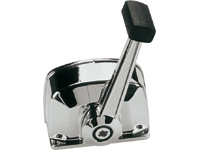 Top mount single lever control