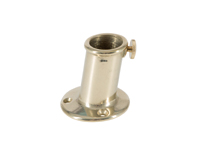 Flagpole holder brass chrome plated