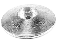 Anodes round shaped
