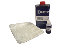Polyester repair set
