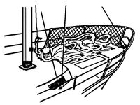 Tiptolest guardrail net