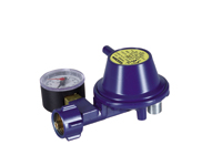 GOK gas pressure regulator right-angle