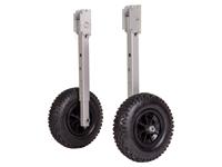 Launching wheels/Stern mounting