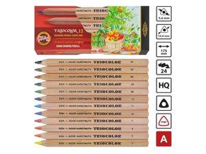 Koh-I-Noor Triocolor kleurpotloden
