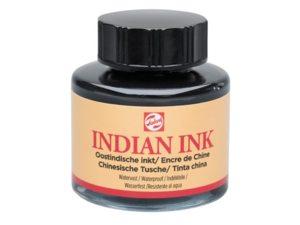 Tekenen met oostindische inkt
