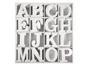 Houten letters (mdf) wit gelakt
