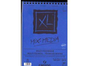 mixed media papier