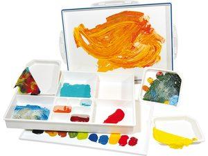 Paletten voor olie en acrylverf