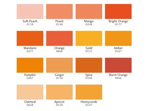 Promarker oranjetinten