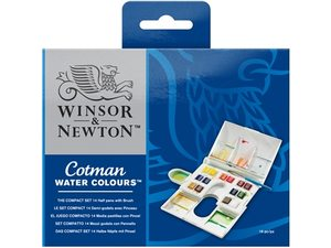 Cotman aquarelverf sets