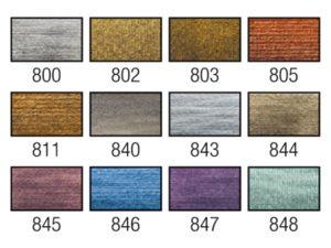 metallic en interference colours