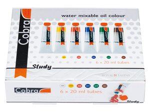 Cobra study watervermengbare olieverf