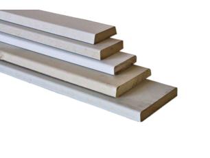Koplatten / Platstukken / Architraven