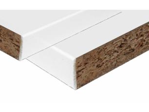 Spaanplaat Wit plastic panelen met 2mm ABS band