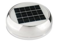 Solar day & night ventilator