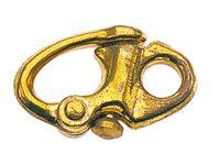 Snap shackles fixed eye - bronze