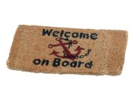 Welcome on board mats