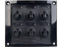 Schalterpaneel gummiarmiert