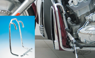 FEHLING CHROME HIGHWAY BAR FOR V-ROD