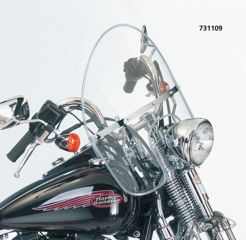 NATIONAL CYCLE'S BEADED HEAVY DUTY WINDSHIELD