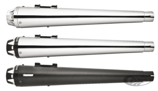 FREEDOM PERFORMANCE AMERICAN OUTLAW SLIP-ON MUFFLERS