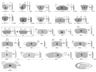 DISC BRAKE PAD SETS