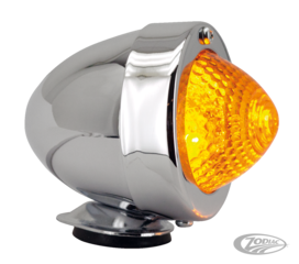 BULLET MARKER LIGHTS WITH EU-APPROVED HONEYCOMB LENSES