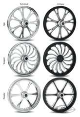 ROUES RC COMPONENTS FORGEES EN ALUMINIUM