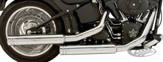 SUPERTRAPP 2-INTO-2 FAT DUALS 1984-2011 SOFTAIL
