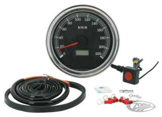 CABLE DRIVEN ELECTRONIC SPEEDO FOR 1947 TO PRESENT DASH