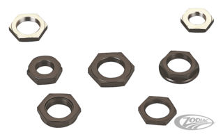 NUTS FOR CRANK PINS, SPROCKET AND PINION SHAFTS